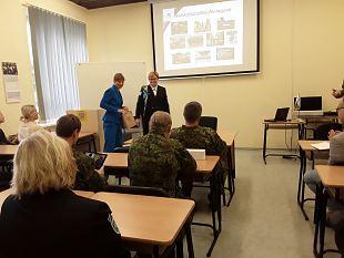 President külastas Jõhvi ja Narva malevkonda
