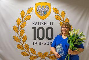Saaremaa aasta naiskodukaitsja on Evely Aavik
