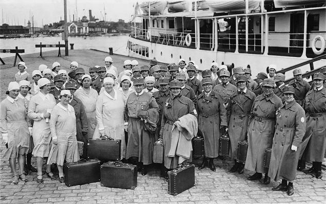 Tervitused Soome lahe õdedele