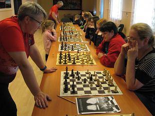 Naiskodukaitse Kanepi jaoskond korraldas malelaagrit.