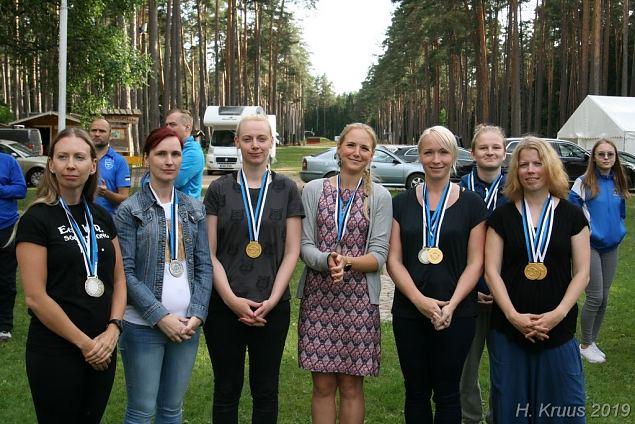 Naiskodukaitsjad meistrivõistlustel