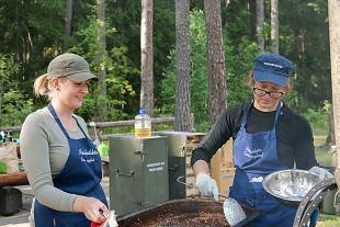 Eesti lasterikaste perede liidu 14. suvekooli toitlustamine