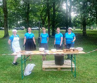 Lõuna-Läänemaa jaoskonna osalemine Lihula kohvikutepäeval