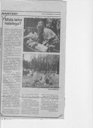 Naiskodukaitse tegevuse taasloomine Pärnumaal