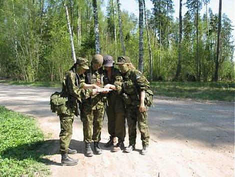 Naiskodukaitse Põhja piirkonna koormusmatka võitis Tallinna ringkond