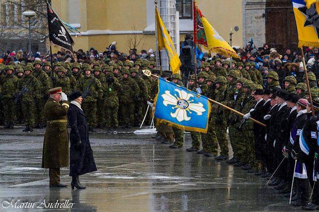 Eesti Vabariigi 100. aastapäeva paraad. Foto: Martin Andreller
