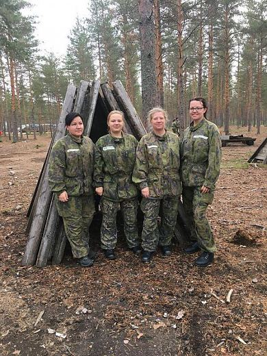 Soome Sõjakooli korraldatud kursus Intti Tutuksi.