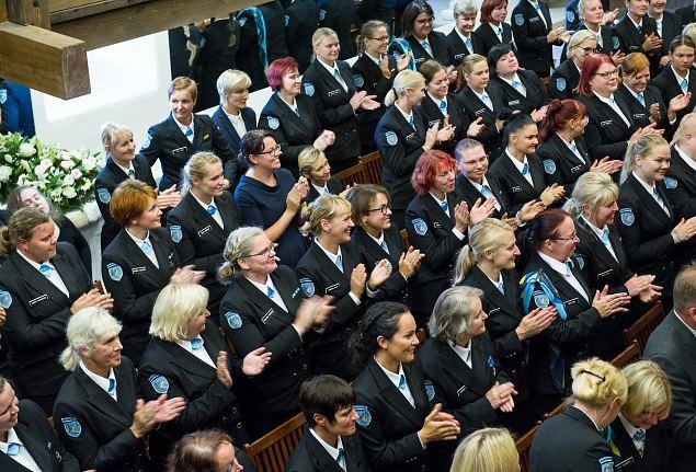 Naiskodukaitse 91. aastapäeva tähistamine