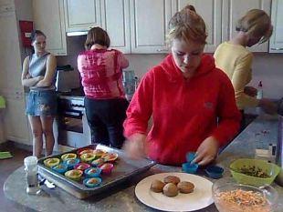 Naadi-vanilje muffinid