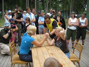 Naiskodukaitsjad kogunevad sportima