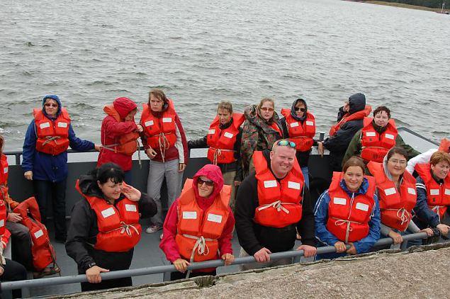 Naiskodukaitsjad võõrustavad Vantaa reservväelasi