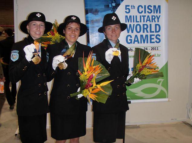 Naiskodukaitsjad saavutasid Brasiilias sõjaväelaste MM-l esikoha