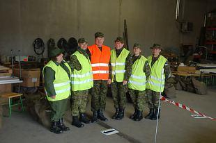 Kaitseliidu Jõgeva Maleva formeerimispunkti meeskond formeeris Kirde Kaitseringkonnas reservväelasi.