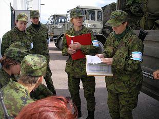 Sakala naiskodukaitsjad täitsid riiklikku ülesannet