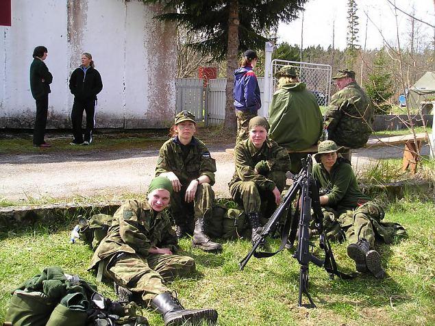 Koormusmatka võitis Tallinna ringkonna naiskond ja Eel-Erna Reservohvitseride Kogu võistkond