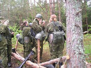 Naiskodukaitse baasväljaõppe laager