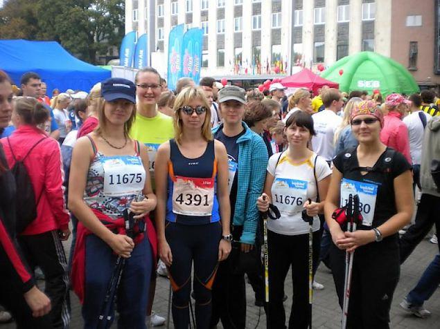 Naiskodukaitsjatega SEB Tallinna Sügisjooksule
