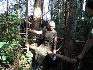 Metsalaager pani proovile naiskodukaitsjate vastupidavuse